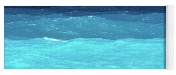 Blue Tones Of Ionian Sea Yoga Mat