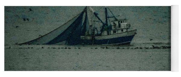 Blue Trawler 3 Yoga Mat