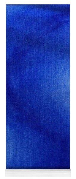 Blue Vibration Yoga Mat