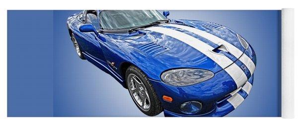 Blue Viper Yoga Mat