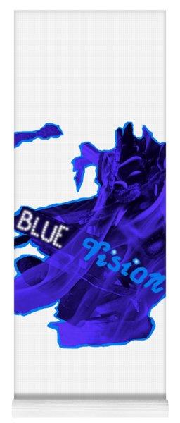 Blue Vision Yoga Mat
