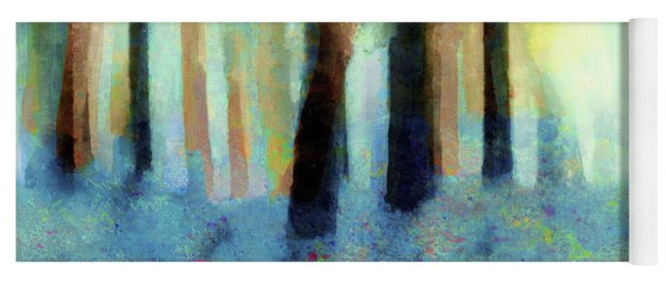 Bluebell Wood By V.kelly Yoga Mat