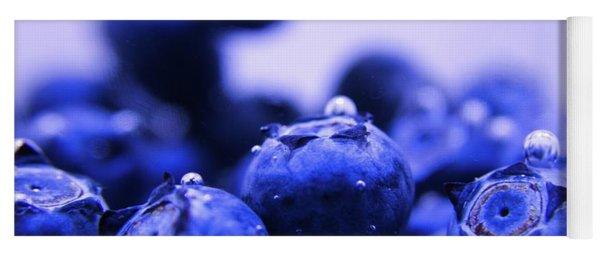 Blueberry Bubbles Yoga Mat