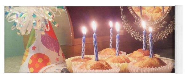 Blueberry Muffin Birthday Yoga Mat