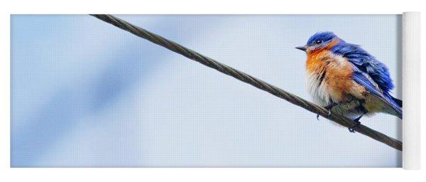 Bluebird Of Happiness Yoga Mat