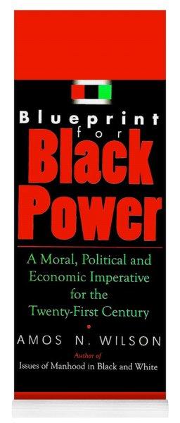 Blueprint For Black Power Yoga Mat