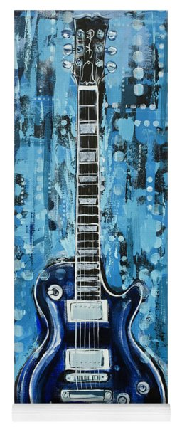 Blues Guitar Yoga Mat