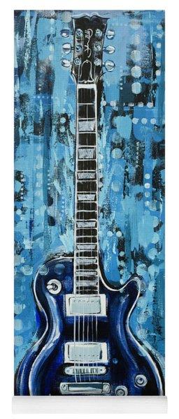 Blues Guitar Yoga Mat