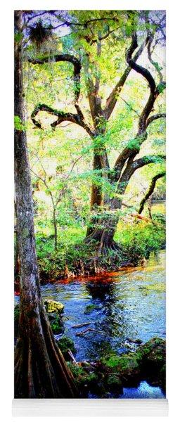 Blues In Florida Swamp Yoga Mat