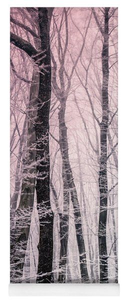 Yoga Mat featuring the photograph Blush Of Dawn Il by Susan Maxwell Schmidt