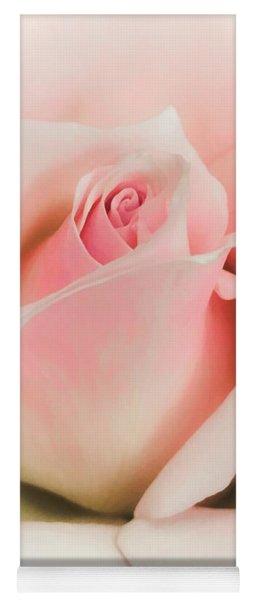 Blushing Petals Yoga Mat