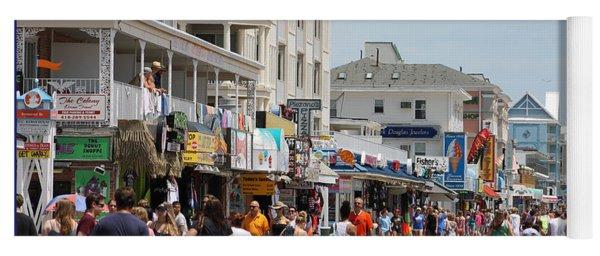 Boardwalk Ocean City Md Yoga Mat