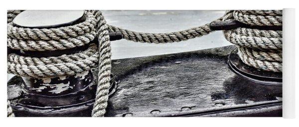 Boat Detail Yoga Mat