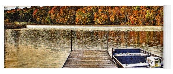 Boat Dock Le-aqua-na II Yoga Mat