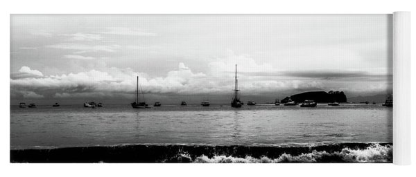 Boats And Clouds Yoga Mat