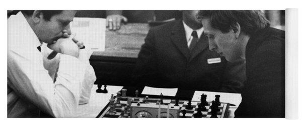 Bobby Fischer (1943-2008) Yoga Mat