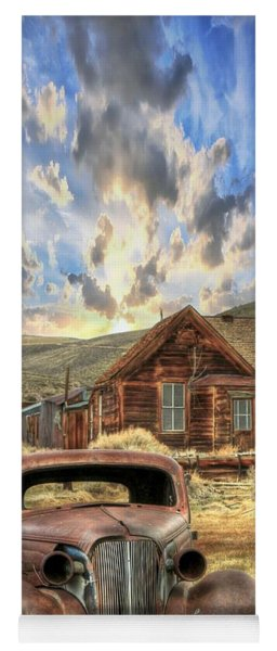 Bodie Ghost Town Yoga Mat