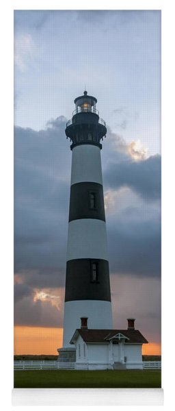 Bodie Island Lighthouse Sunset Yoga Mat