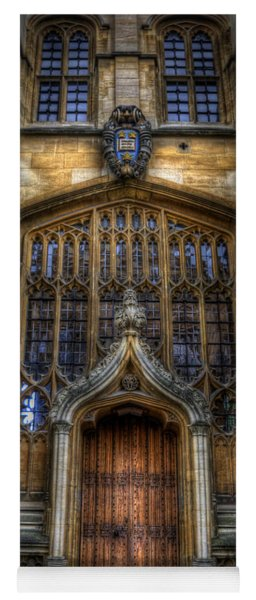 Bodleian Library Door - Oxford Yoga Mat