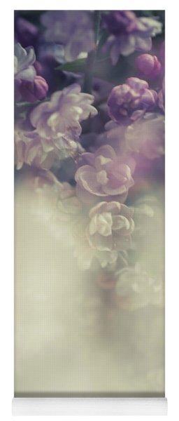 Boho Chic Lilac Bouquet Yoga Mat