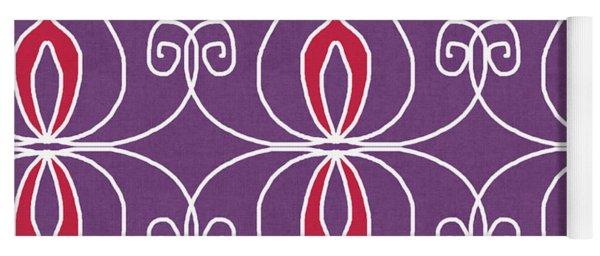 Boho Ornamental 2- Art By Linda Woods Yoga Mat