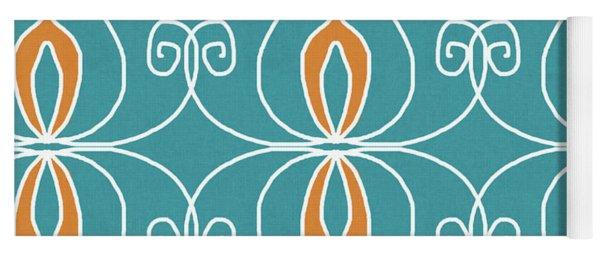 Boho Ornamental 3- Art By Linda Woods Yoga Mat