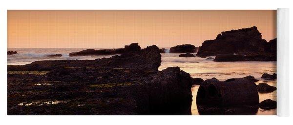 Boiler Bay Sunset Yoga Mat