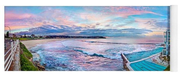 Bondi Beach Icebergs Yoga Mat