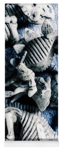 Bones From A Mass Extinction Event Yoga Mat