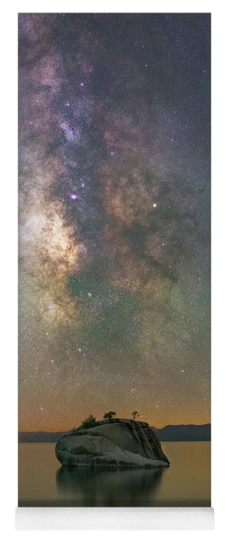 Bonsai Rock Milky Way  Yoga Mat