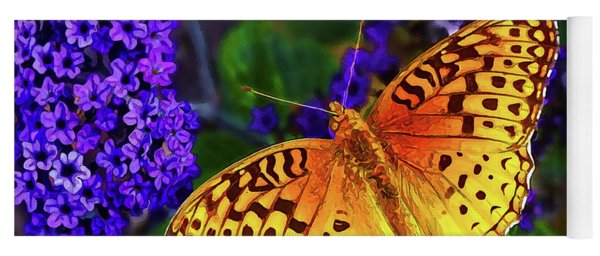 Boothbay Butterfly Yoga Mat