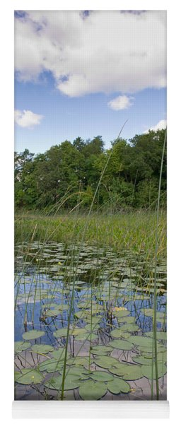 Borden Lake Lily Pads Yoga Mat