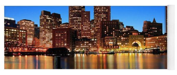 Boston Aglow Yoga Mat