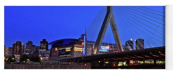 Boston Garden And Zakim Bridge Yoga Mat