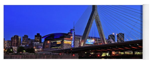 Boston Garden And Zakim Bridge Yoga Mat
