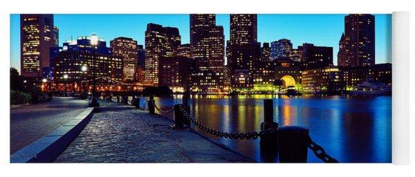 Boston Harbor Walk Yoga Mat