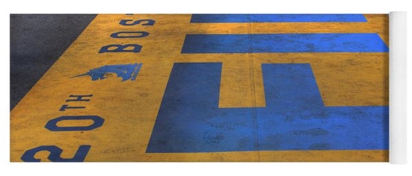 Boston Marathon Finish Line Yoga Mat