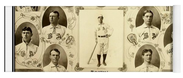 Boston Red Sox A K A Boston Americans 1904 Yoga Mat