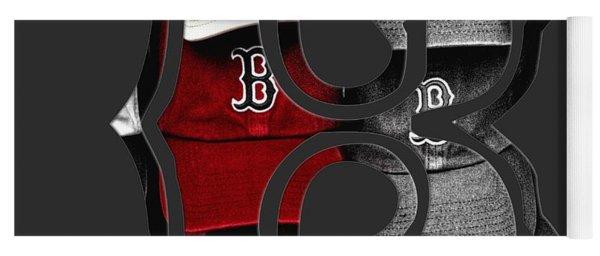 Boston Red Sox B Logo Yoga Mat