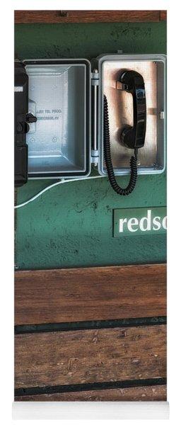 Boston Red Sox Dugout Telephone Yoga Mat