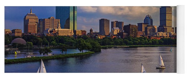 Boston Skyline Yoga Mat