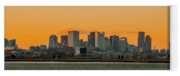 Boston Sunset Yoga Mat