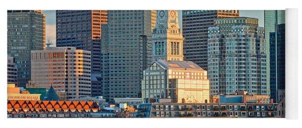 Boston Sunset Sail Yoga Mat