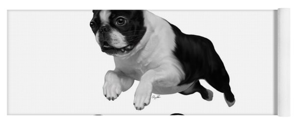 Boston Terrier Yoga Mat