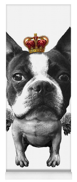 Boston Terrier, The King Yoga Mat
