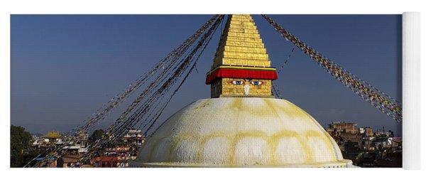 Boudhanath Stupa Yoga Mat