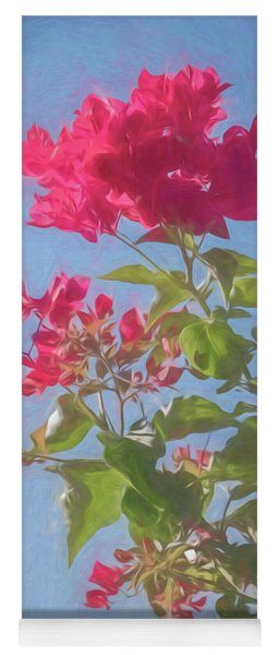 Bougainvillea Morning Yoga Mat