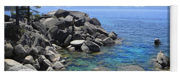 Boulder Cove On Lake Tahoe Yoga Mat