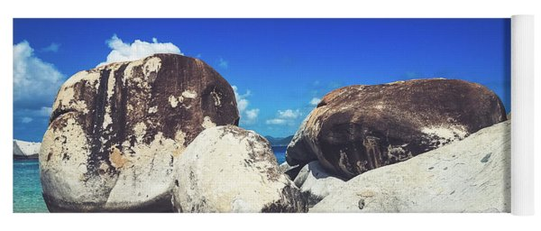 Boulders At The Baths - Virgin Gorda Yoga Mat