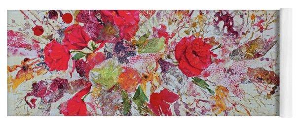 Paper Roses Yoga Mat
